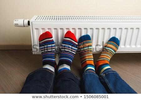 Aluminium verwarming energie hot warmte Stockfoto © magraphics