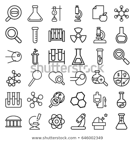 Drop Counter Icon Vector Outline Illustration Stock photo © pikepicture