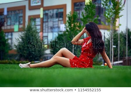 feminino · pé · nu · branco · beleza - foto stock © nobilior
