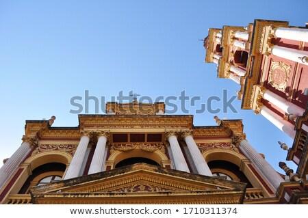 Piękna kolonialny kościoła Argentyna starych Zdjęcia stock © elxeneize