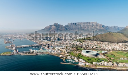 panoramic view of capetown stock photo © anna_om