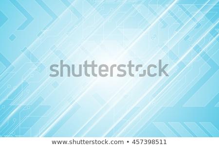 Parlak ok yeşil bayrak grafik modern Stok fotoğraf © rioillustrator