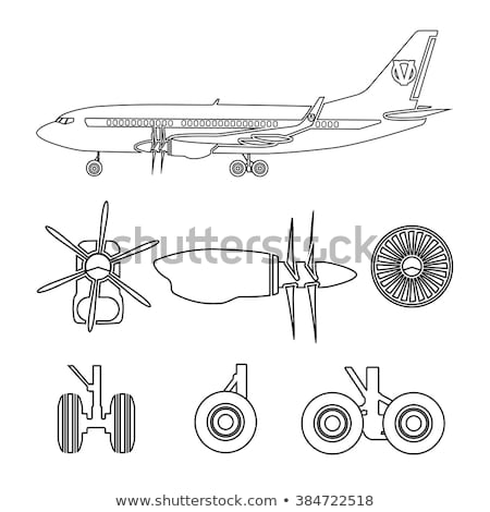Sign aircraft repair Stock photo © Ustofre9