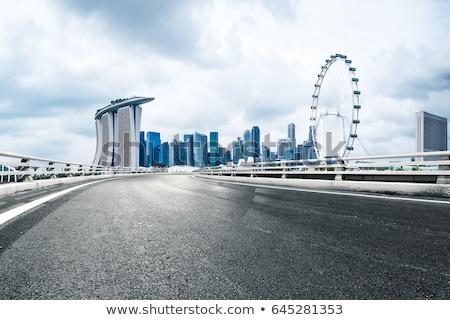 Singapore road Stock photo © joyr