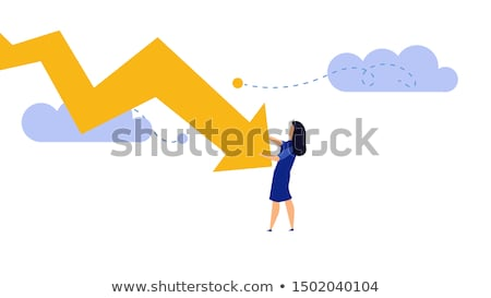 crisis, recession broke concept Stock photo © godfer