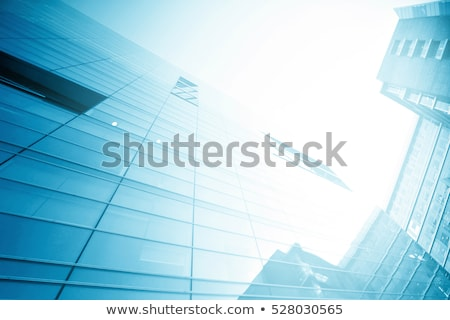 New black building background stock photo © ylivdesign