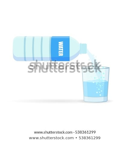water pouring into plastic cups stock photo © ozaiachin
