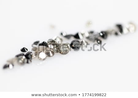 Diamentów czarny odizolowany diament skarb luksusowe Zdjęcia stock © Arsgera