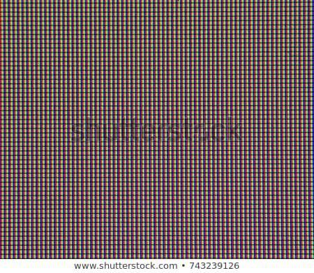 ЖК телевизор экране красный Сток-фото © Frankljr