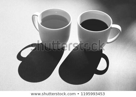 пить · дым · красный · чай · ретро - Сток-фото © konradbak