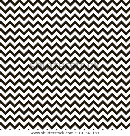 Abstract wave seamless pattern. Fabric zig zag line ornament Stock photo © Terriana