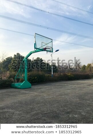 Zona · de · juegos · parque · árbol · ninos · feliz · deporte - foto stock © bobkeenan