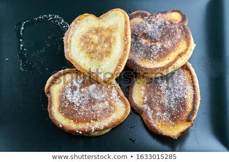 パンケーキ · 甘い · ケーキ · プレート · 朝食 - ストックフォト © tycoon