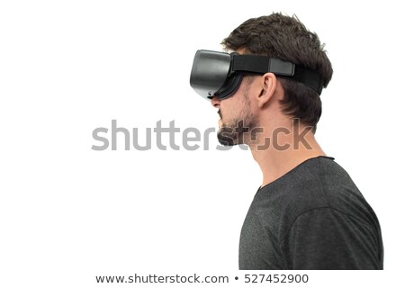 Using virtual reality for scientific experiment Stock photo © pressmaster