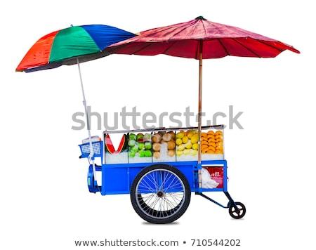 фрукты корзины иллюстрация продовольствие магазин ананаса Сток-фото © adrenalina