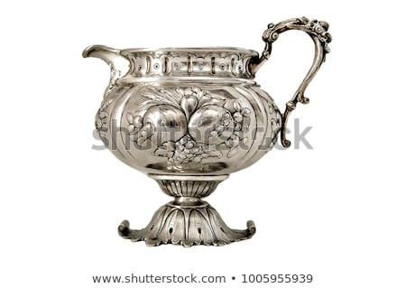 Antique silver holder Stock photo © Hofmeester