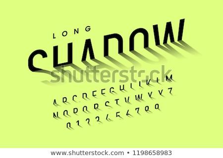 Lettere nero legno copia spazio illustrazione 3d Foto d'archivio © make