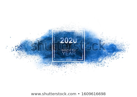 Powder explosion in a trend of the year 2020 color. Stock photo © artjazz