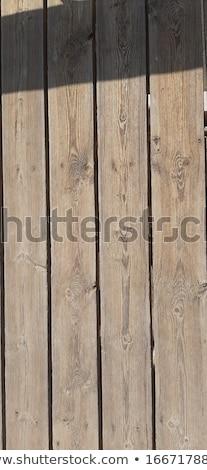 Textuur vier hout muur abstract ontwerp Stockfoto © ElenaBatkova