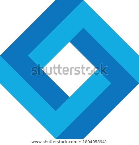 Impossible square icon. Stock photo © almagami