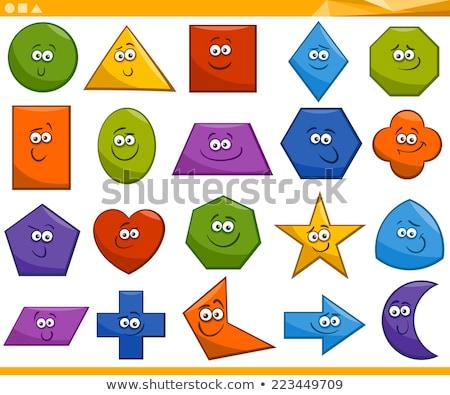 三角形 サークル 広場 幾何学的な 学習 ストックフォト © olivier_le_moal