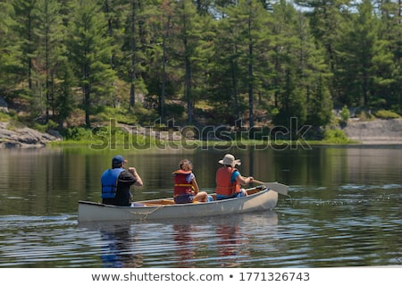 A summer day in Canoe Country Stock photo © wildnerdpix