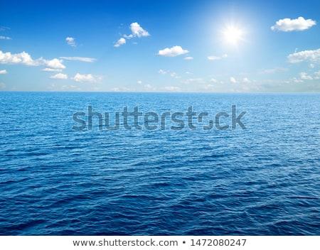 синий морем изображение красивой красоту лет Сток-фото © magann