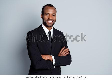 genç · iş · adamı · yalıtılmış · beyaz · adam · işadamı - stok fotoğraf © get4net