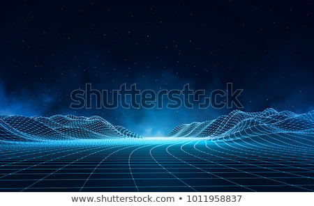 Abstract retro technological background Stock photo © gladiolus