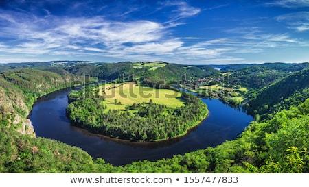 Viewpoint of the Vltava river Stock photo © ondrej83