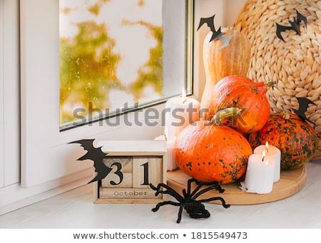 Halloween Calendar Stock photo © timurock