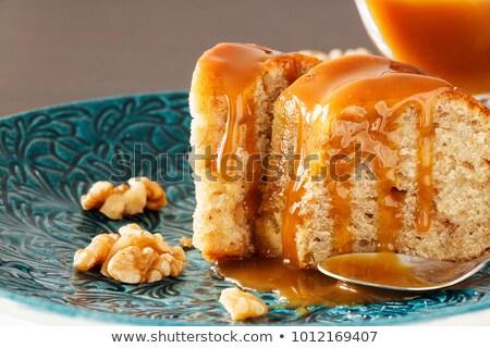 Walnut toffee cake  Stock photo © Digifoodstock