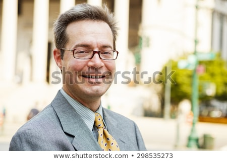 man smiling at viewer Stock photo © IS2