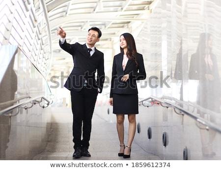 man & woman walking to work Stock photo © IS2