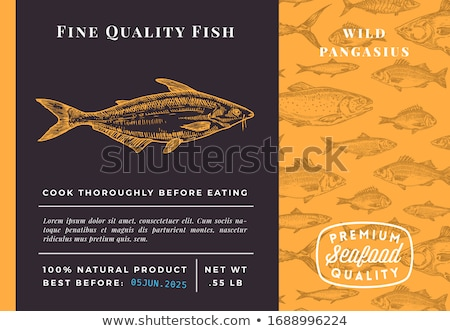 Brand of Premium Quality Label and Promo Banner Stock photo © robuart