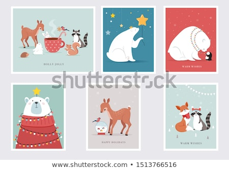 Merry Christmas and Happy Winter Days, Big Sales Stock photo © robuart