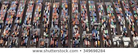 Panorama rotterdam port holland Photo stock © benkrut
