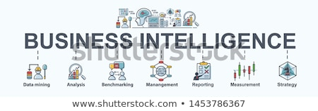 Business Intelligence concept banner header. Stock photo © RAStudio