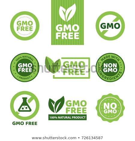 Génmanipulált organikus gazdálkodás mezőgazdasági bio öko Stock fotó © Lightsource