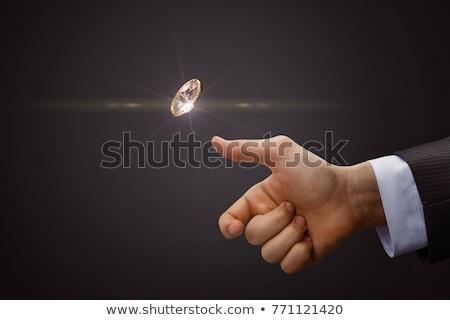Coin flip Stock photo © alexeys