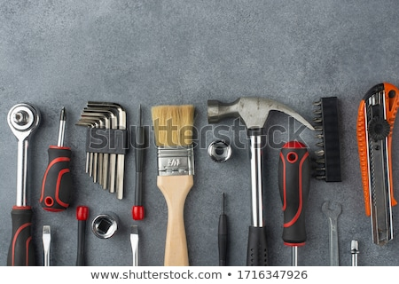 Stock photo: set of hand tools