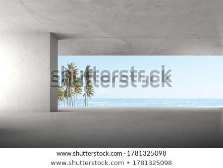 concrete frame stock photo © tuulijumala