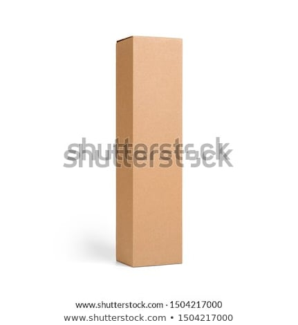 box paperboard blank empty Stock photo © shutswis