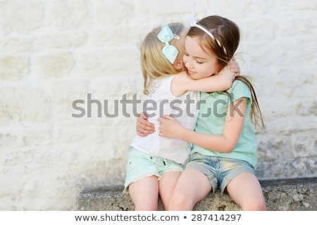 Siblings Laughing Each Other Stock photo © ozgur