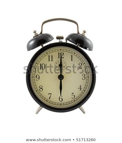 Stock photo: Old Clock Face Six Views