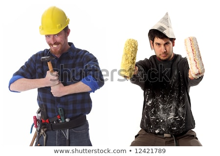 a foolish business man with a hammer Stock photo © photography33