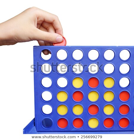 Stock photo: Bingo, line-up 4 isolated