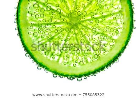 Kireç soda meyve suyu su Stok fotoğraf © AEyZRiO