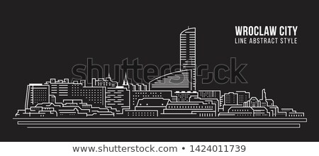 wroclaw cityscape stock photo © joyr