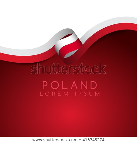 national flag of poland themes idea design vector illustration